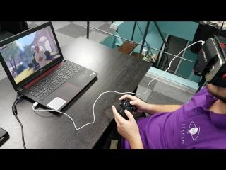 Играем в Bioshock Infiniti в VR без окулуса