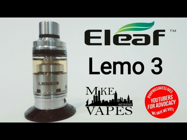 Lemo 3 By Eleaf - RTA/Sub Ohm Tank