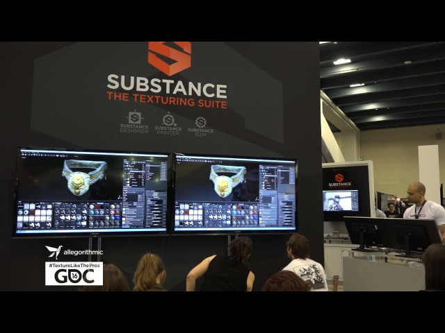 GDC 2016: Freedom and Flexibility in Substance Painter by Glauco Longhi