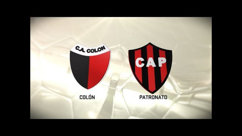Colón vs. Patronato. Fecha 7. Torneo de Primera División 20162017. FPT
