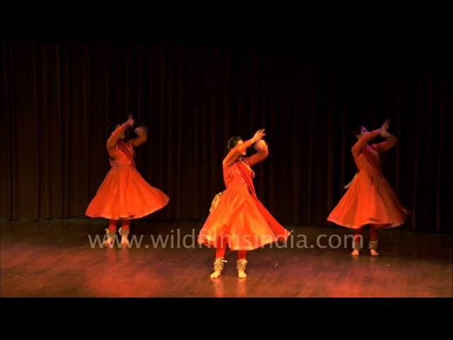 A beautiful trio Kathak performance at Duet Dance Festival
