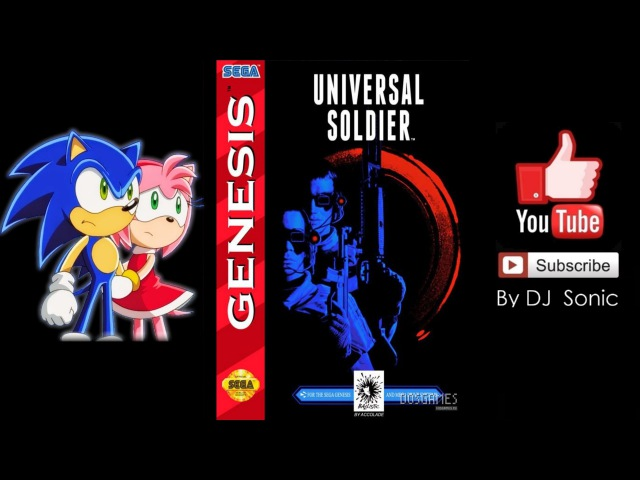 Universal Soldier [1992] (Sega) Walkthrough On Real Tiime
