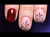 Маникюр на коротких ногтях  Дизайн ногтей гель-лаком  Nancy Wave