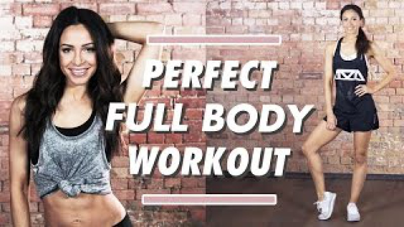 FAT BURNING TONING Full Body Perfect Workout   Danielle Peazer Compilation