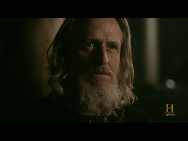 The Vikings 4x14 Ragnar Lothbrok and king Ecbert talking about afterlife