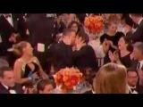 Ryan Reynolds and Andrew Garfield kiss over Ryan Gosling's Golden Globe Win 2017