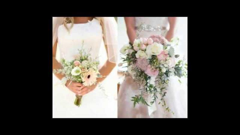 Модные свадебные букеты для невесты в 2017 году
