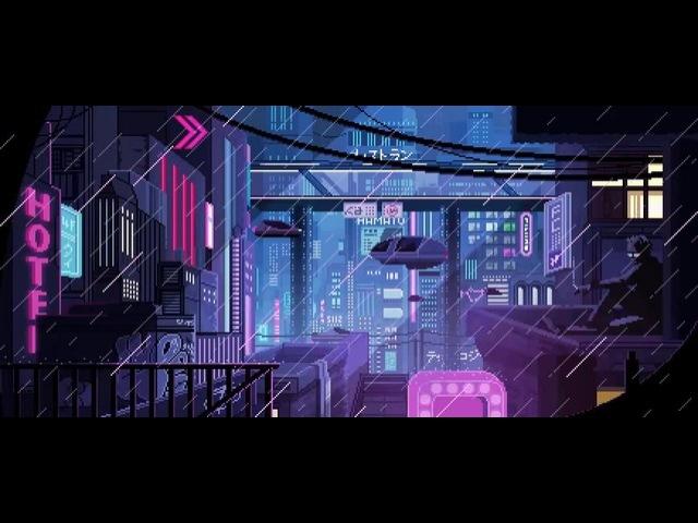 Neon retro-future