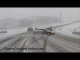 Compilation of Ridiculous Car Crash and Slip &amp Slide Winter Weather - Part 1