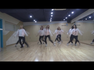 mirrored [dance practice] TWICE(트와이스)