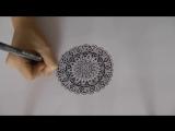 Зендала - Пошаговое рисование