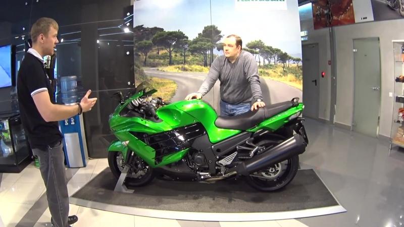 Мини обзор гипербайка Kawasaki ZZR 1400F _ БайкХаус