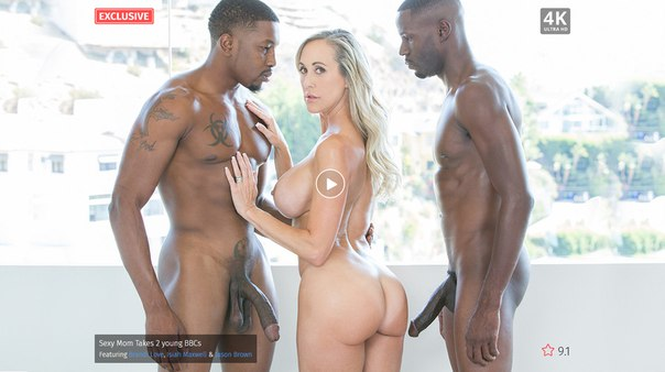 BLacked – Sexy Mom Takes 2 young BBCs – Brandi Love, Isiah Maxwell & Jason Brown