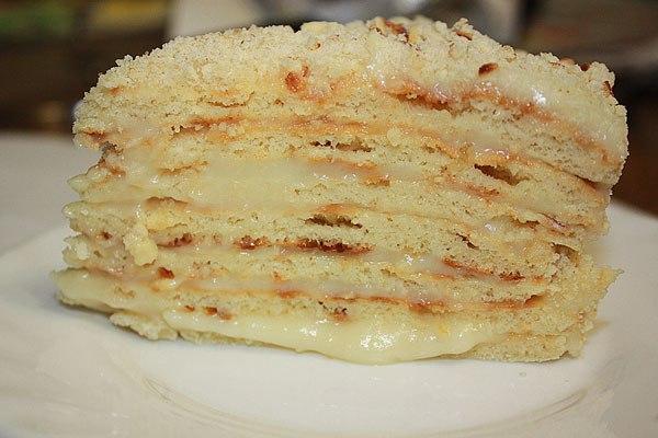 Фото рецепт торта на скорую руку