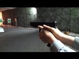 Эльнара учится стрелять! 2
