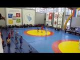 Чемпионат СПБ по самбо  Хусаинов кмс- Хлопов мсмк