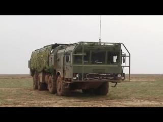 Замедленный удар крылатой ракеты ОТРК «Искандер М»