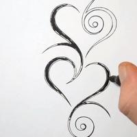 картинки рисунки ручкой на руках
