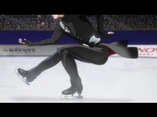 Yuri on Ice, episode 6 — 愛について Eros — Yuris short program