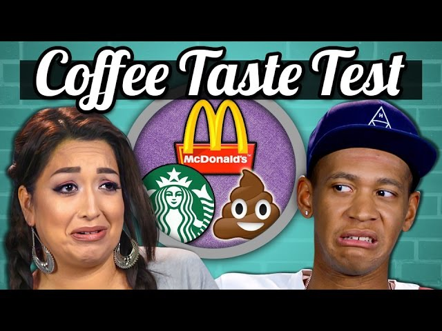 ADULTS VS FOOD - COFFEE! (McDonalds, Starbucks, Poop!)