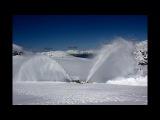 Как проделывают дороги в снегах Норвегии! Впечатляющие кадры!