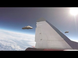 Russian Pilot reported close encounter with Two UFOs !!! July 2016