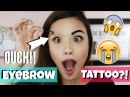 TATTOOING MY EYEBROWS?! First Impressions ♥ Etude House Tint My Brows Gel Review