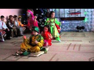супер восточный танец на новогоднем утреннике в МБДОУ МО г.Краснодар