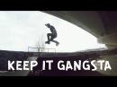 [KEEP IT GANGSTA] MaxNRG делает невероятные трюки на роликах