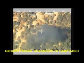 Video Clip of fleeing Boko Haram Terrorists from Camp ZAIRO