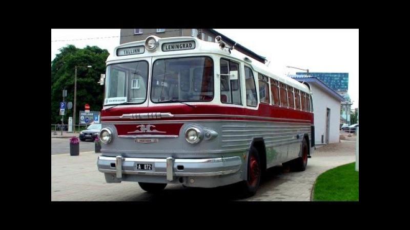 Советский Автобус ЗИС 127 Soviet Bus ZIS 127 1955 1961 Retro