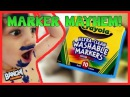 Marker Mayhem! Do Crayola Ultra-Clean Washable Markers work? | Banchi Brothers Toy Review