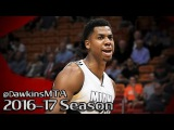 Hassan Whiteside Full Highlights 2016.12.14 vs Pacers - 26 Pts, 22 Rebs, 2 Blks!