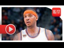 Carmelo Anthony Full Highlights vs Kings (2016.12.09) - 33 Pts, 7 Reb, GodMelo Mode!