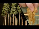 Tall Forest Pine Trees Model Railroad Scenery