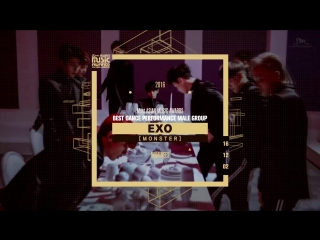 [2016 MAMA] Best Dance Performance Male Group Nominees
