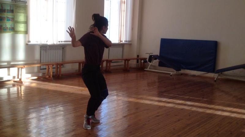 Afro Dance - Gulnara. SGU. NBF. 11.12.16