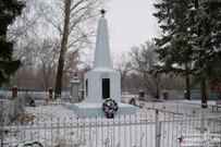 16 декабря 2014 - Самарская область: Памятник жителям Осиновки погибшим в Великой Отечественной войне