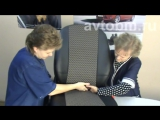 Установка авточехлов на сидения автомобиля Рено Логан 2-го поколения