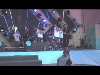 День города пермь 2016   школа танца danger electro   trini 