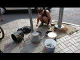 Symfusion уличный музыкант в Сочи.. Мужик нереально круто играет, редкость