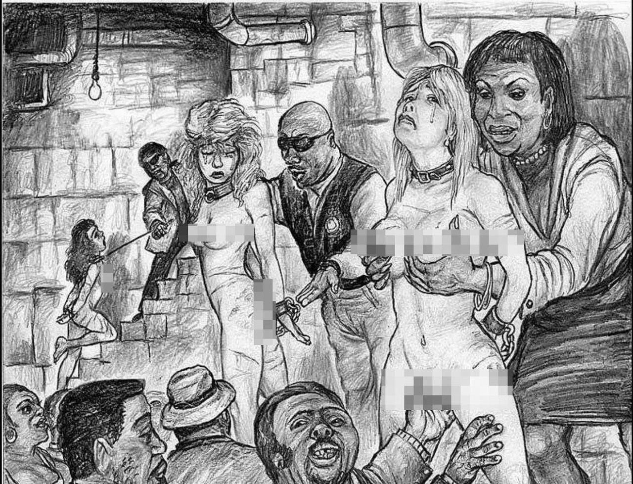 Рабыни в кандалах в рассказах,  Цепь. Часть 1. Ваша рабыня PainArt 1 фотография
