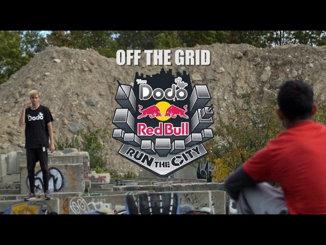 Red Bull Run The City - Dodo Freerun Off The Grid