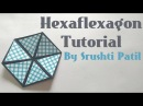 Hexaflexagon Colour changing Hexagon Tutorial by Srushti Patil