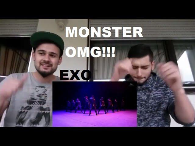 Фанбои EXO Monster MV Reaction - German Fanboys EXO-L Реакция немецких фанбоев Ехо на Монстр