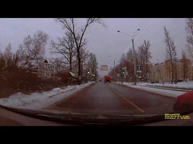 ДТП. Авария на Рябовском шоссе. 04.11.16. car accident. car crash