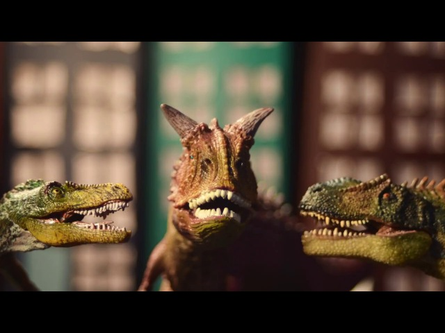 Cats Dinosaurs - Jobba mindre! (Stop Motion Swing Music Video)
