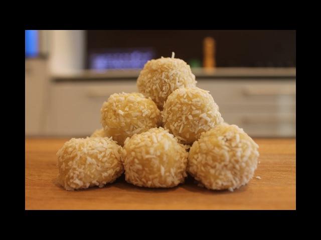 Конфеты рафаэлло (готовим на новой кухне HANAK)