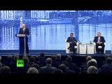 Путин, Назарбаев, Ренци на ПМЭФ-2016