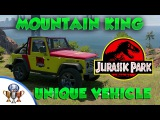 Watch Dogs 2 Jurassic Park Easter Egg - Unique Vehicle &amp Jurassic Park Jeep - Mountain King